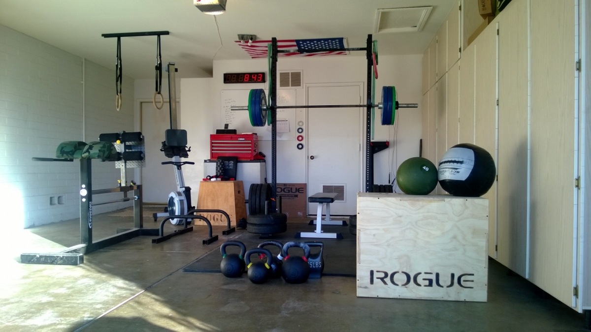 Crossfit garage converted setup box junkies