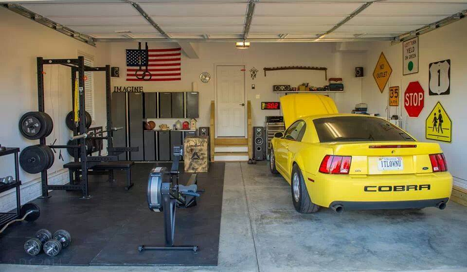 Diy Garage Crossfit Gym Home Desain 2018