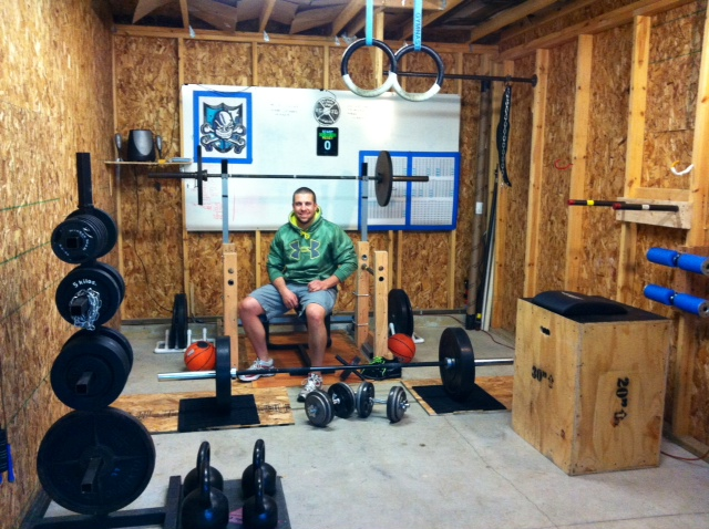 How to build a home crossfit box shopping list box junkies for How to create a home gym